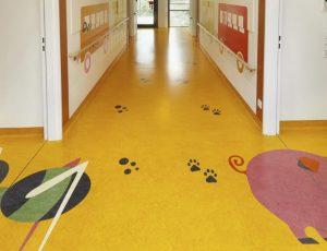 Linoleum flooring / professional use