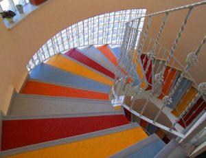 merdiven halı döşeme